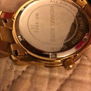 Michael Kors Accessories - Authentic Michael Kors Watch for Women Gold